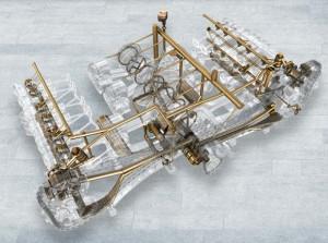 Система смазки двигателя Порше