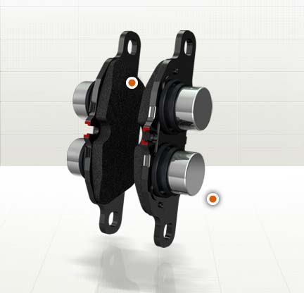 Тормозная система Porsche_