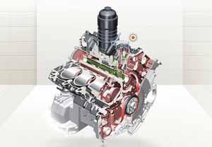 Система вентиляции картера двигателя Кайен
