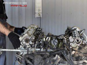 Ремонт двигателя Porsche