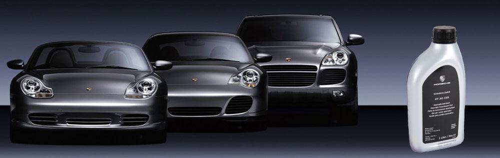 Замена масла и фильтра в АКПП Porsche
