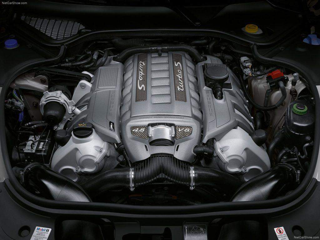 Двигатель Порше Панамера