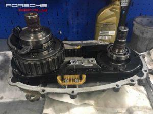 Ремонт раздаточной коробки Porsche Cayenne