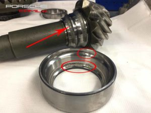 Замена неисправных деталей переднего редуктора Porsche Cayenne
