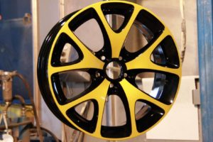 Порошковая покраска литых дисков Porsche