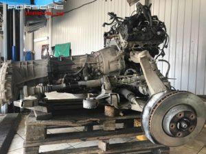 Устранение течи двигателя 3.0 Porsche Cayenne